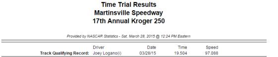 2015 saturday truck qualifying 1